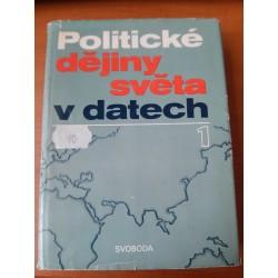 Politické dějiny světa v datech 1