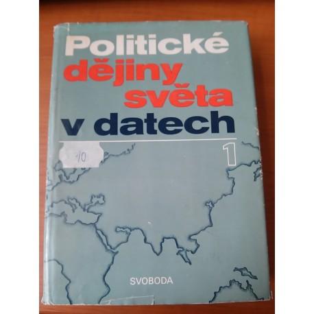 Kolektiv autorov - Politické dějiny světa v datech 1,2