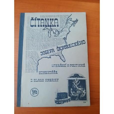 Čítanka Josefa Škvoreckého - Literární a politické komentáře z Hlasu Ameriky