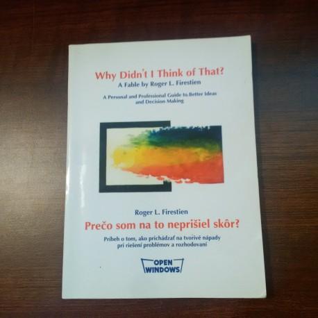 Firestein Roger L.- Prečo som na to neprišiel skôr