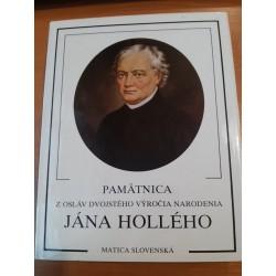 Pamätnica z osláv dvojstého výročia narodenia Jána Hollého