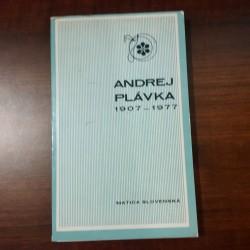 Andrej Plávka 1907 - 1977