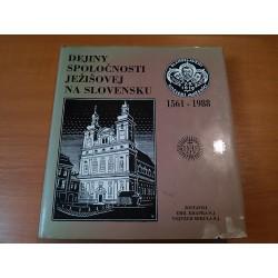 Dejiny Spoločnosti Ježišovej na Slovensku 1561 - 1988