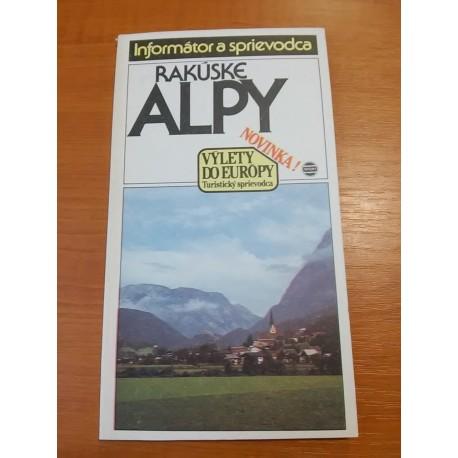 Rakúske Alpy a okolie - informátor a sprievodca