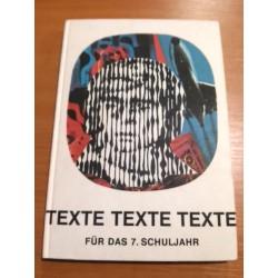 Texte, texte, texte – für das 7. Schuljahr lesebuch