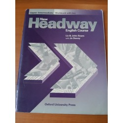 New Headway – English Course, upper-intermediate workbook with key