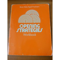 Opening strategies 1 - workbook