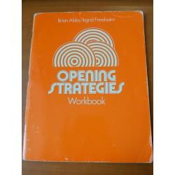 Opening strategies 1 - workbook