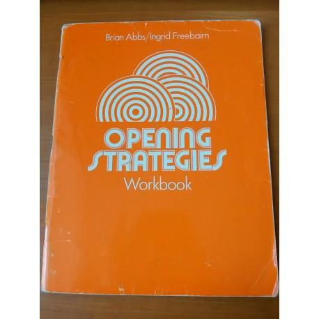 Brian Abbs, Ingrid Freebairn - Opening strategies 1 - workbook