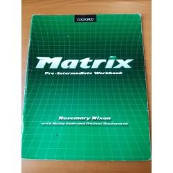 Matrix - pre-intermediate workbook