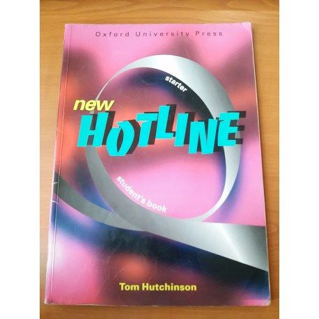 New Hotline – student's book