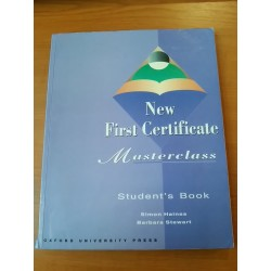 Masterclass – New first certificate, student's book
