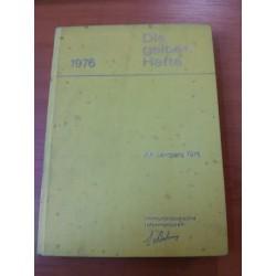 Die gelben Hefte – Xv. Jahrgang 1976
