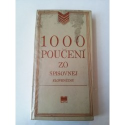 1000 poučení zo spisovnej slovenčiny