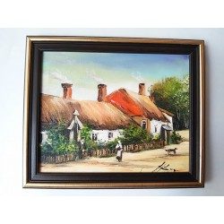 Obraz Na dedine