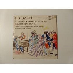 J.S. Bach, Brandenburg Concerto č. 5 / trojitý koncert