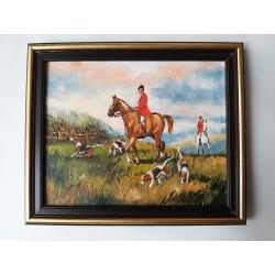 Obraz Poľovačka na koni