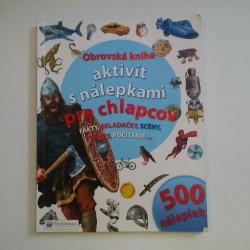 Obrovská kniha aktivít s nálepkami pre chlapcov