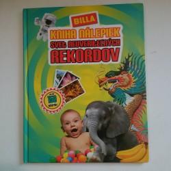 Kniha nálepiek - Svet neuveriteľných rekordov