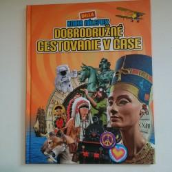 Kniha nálepiek - Dobrodružné cestovanie v čase