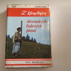 Z klenotnice slovenských ľudových piesní