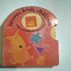 Štvorec, kruh, obdĺžnik - Milko a Kamilko ťa naučia tvary