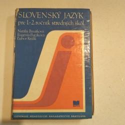 Slovenský jazyk pre 1. a 2. ročník SŠ