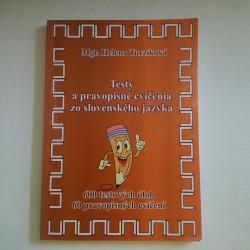 Testy a pravopisné cvičenia zo slovenského jazyka
