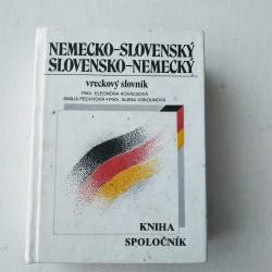 Nemecko - slovenský, slovensko- nemecký vreckový slovník