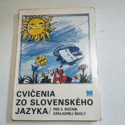 Cvičenia zo slovenského jazyka pre 5. ročník ZŠ