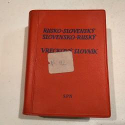 Rusko - slovenský, slovensko - ruský vreckový slovník