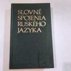 Slovné spojenia ruského jazyka
