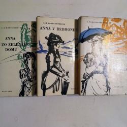 Anna zo zeleného domu, Anna z Avonlea, Anna v Redmonde