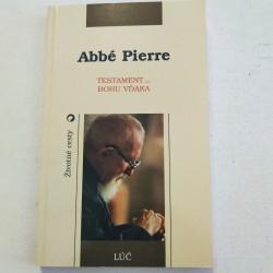Abbé Pierre. Testament – Bohu vďaka