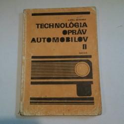 Technológia opráv automobilov II