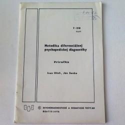 Metodika diferenciálnej psychopedickej diagnostiky (príručka)