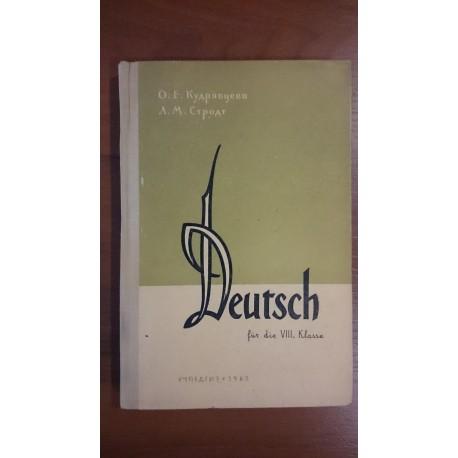 Deutsch für die VIII. klasse