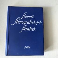 Slovník stenografických skratiek