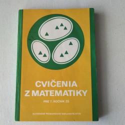 Cvičenia z matematiky pre 7. ročník ZŠ (nepovinný predmet)