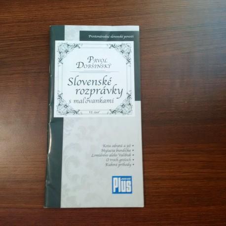Prostonárodné slovenské povesti, Slovenské rozprávky s maľovankami VI.