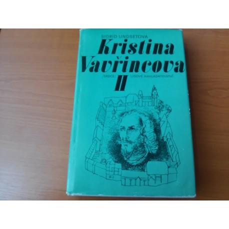 Kristína Vavřincová II.