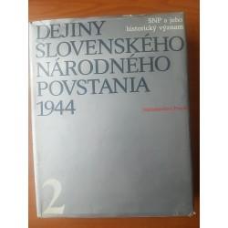 Dejiny Slovenského národného povstania II.