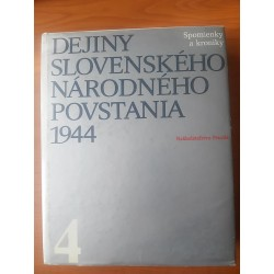 Dejiny Slovenského národného povstania IV.