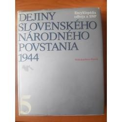 Dejiny Slovenského národného povstania V.