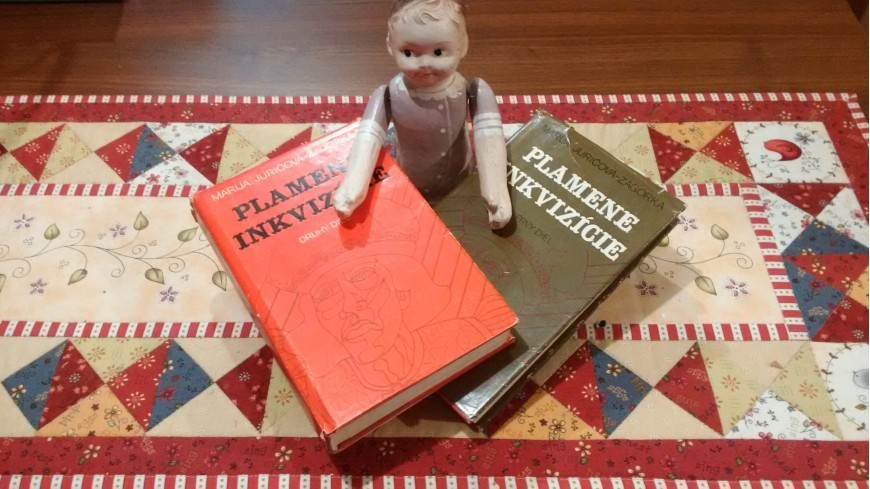Tip na knihu ... Maria Jurič Zagorka - Plamene inkvizície